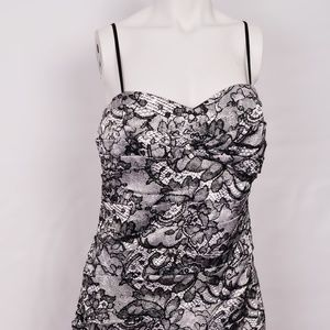 Ruby Rox Lace-Print Cocktail Party Dress (13)